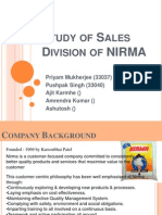 NIRMA Sales and Distribution.pptx