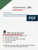 Java DataBase Connectivity_ JDBC