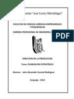 Normas ISO Direccion de La Produccion - John Durand Rodriguez