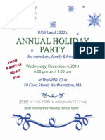 UAW 2322 Holiday Party