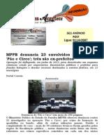 MPPB denuncia 23 envolvidos na operação 'Pão e Circo'; três são ex-prefeitos