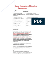 The Rational Learning of Foreign Languages.doc