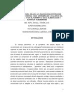 UTILIZACION DE CAÑA DE AZUCAR  (SACCHARUM OFFICINARUM)APORTE DE ENERGIA GANADERIA LLANOS DEL ESTADO APURE