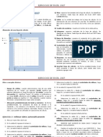 Ejercicios de Excel 2007 1ro de Secundaria
