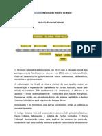 Resumo de História do Brasil
