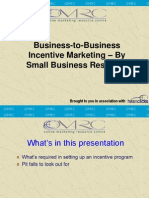 B2B Incentive Marketing