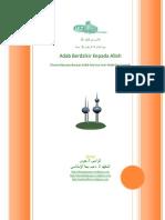 الأدب من الذكر الله من أذكار الكتاب والسنة   Adab Berdzikir Berdzikir Kepada Alloh dan Bacaan Bacaan Dzikir Matsur.pdf