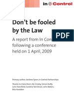 Don't Be Fooled by the Law Report