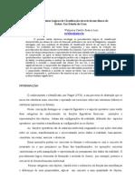 Procedimentos Lógicos de classificação através de um banco de dados