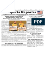 October 30 - November 6, 2013 Sports Reporter