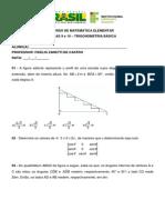 Aulas 9 e 10 - Trigonometria Basica - Cem