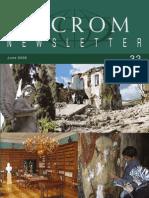 ICCROM - Newsletter 32 - ICCROM.pdf