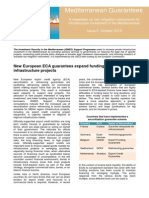 Investment security in the Mediterranean - October 2013 newsletter