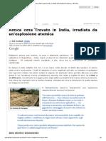 Antica città Trovato in India, irradiata da un'esplosione atomica - वेद Veda.pdf