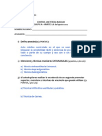 Pauta Control Anestesia A