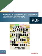 Actas Del IV Congreso de La Ensenanza Claudiamartins