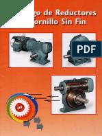 Catalogo de Reductores de Tornillo Sin Fin