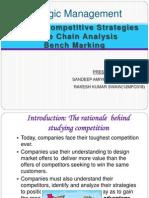 Generic Competitive StrategiesValue Chain AnalysisBench Marking