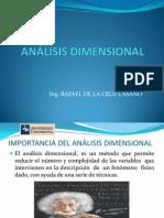 Clase de Analisis Dimensional