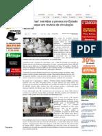 SiteBarra » 'Quentinhas' servidas a presos no Estado são destaque em revista de circulação nacional