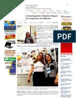 SiteBarra » Psicóloga francisquense Vivianne Vargas participa de congresso em Maceió