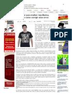 SiteBarra » De mulher para mulher_ loja Marisa, estupro e como corrigir seus erros