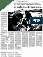 08-09-11 Le Monde - Japon best seller numérique