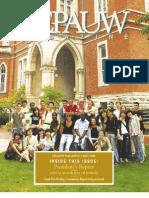 DePauw Magazine Fall 2006