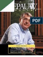 DePauw Magazine Summer 2005