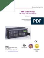 GE - M60 Motor Relay - Manual