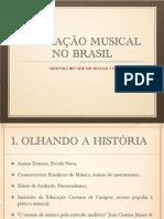fundamentos da educação musical - educação brasileira segunda metade séc XX