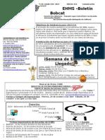 Bobcat Bulletin 10-21-13 spanish.doc