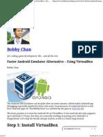 Android v Box