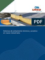 URSA. Grupo Uralita. Sistemas de aislamiento térmico y acústico en naves industriales.pdf