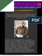 Derrida, Jacques - Sobre La Fenomenologia