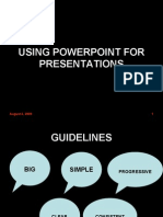 Power Point Presentation Skills