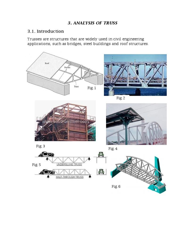 Analysis of Truss   Truss   Building