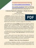 goswani e a teoria dos campos morfogenéticos de sheldrake