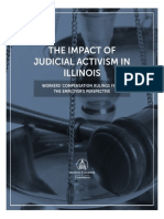 THE IMPACT OF JUDICIAL ACTIVISM IN ILLINOIS of WORKERS' COMPENSATION RULINGS FROM THE EMPLOYER'S PERSPECTIVE