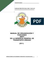 15 Mof de La Gerencia General de Transporte Urbano