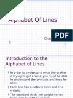 Alphabet of Lines