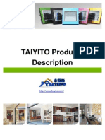 TAIYITO Products Description 2012