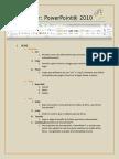 Breve Manual PowerPoint® 2010