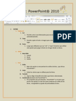 Breve Manual PowerPoint® 2010