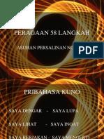 PERAGAAN 58 LANGKAH