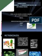 Farmacodinamia y Farmacocinc3a9tica de Los Antiparasitarios