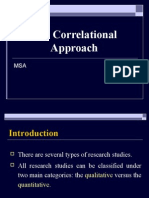 Correlational Approach Final Version