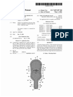 Close fitting leakage resistant feminine hygiene pad (US patent 7037297)