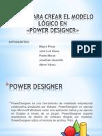 power designer - modelo lógico