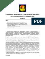 Revoluciones Desde Abajo Para Una Civilizacion Intercultural-Rauber2013
